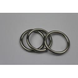 RVS ring - D4x30