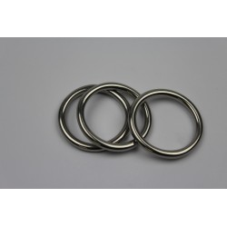 RVS ring - D6x45